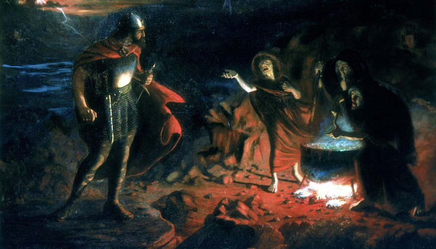 Not all accused of witchcraft were as obvious as the cauldron-stirring trio from MacBeth.
