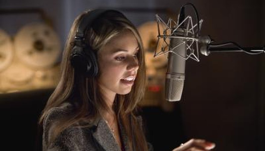 Voice-over artists gets varied pay and usually try to get other acting jobs.