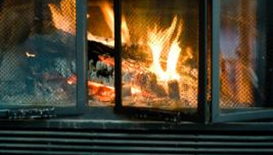 Improve your fireplace by periodically removing the fireplace grate and cleaning it.