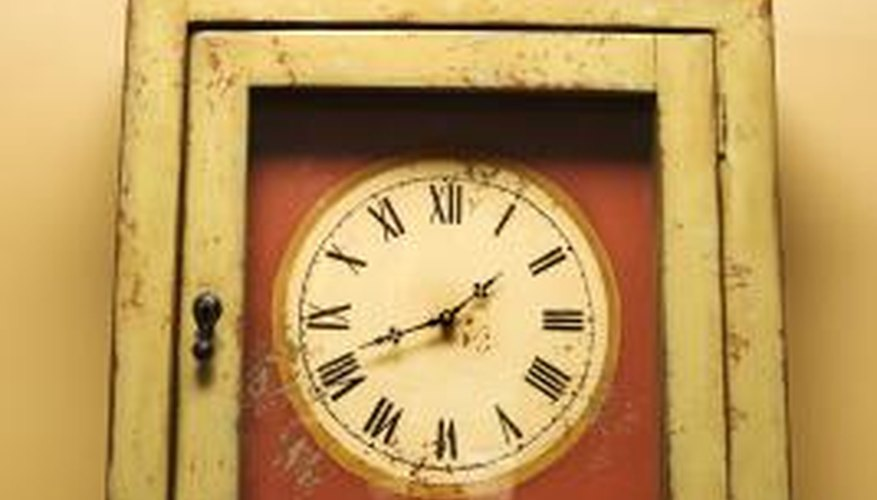 A 31 day clock must be wound every 31 days.