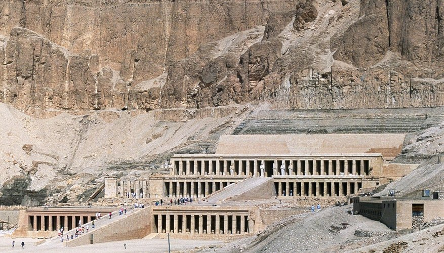 Queen Hatshepsut's tomb is one of the largest in the Valley of the Kings.