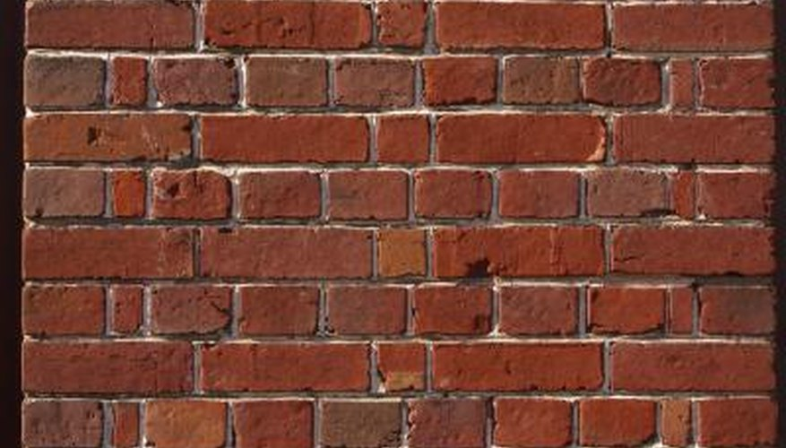 You will see header rows on solid brick walls.