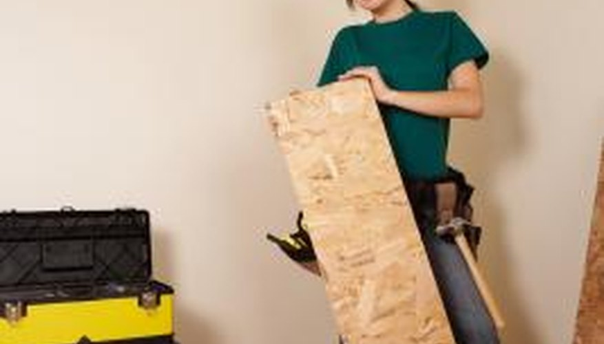 Before plastering over plywood take precautions to avoid moisture damage.