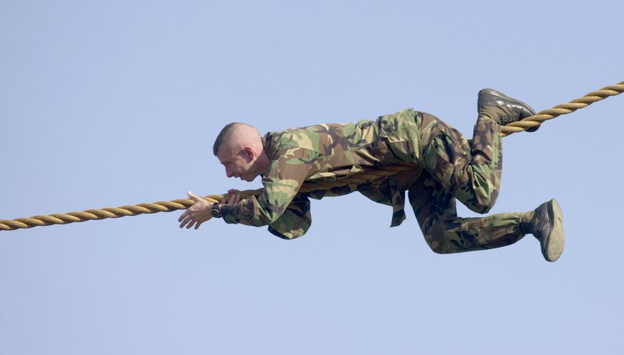 U.S. Army Ranger training at Fort Benning, Georgia