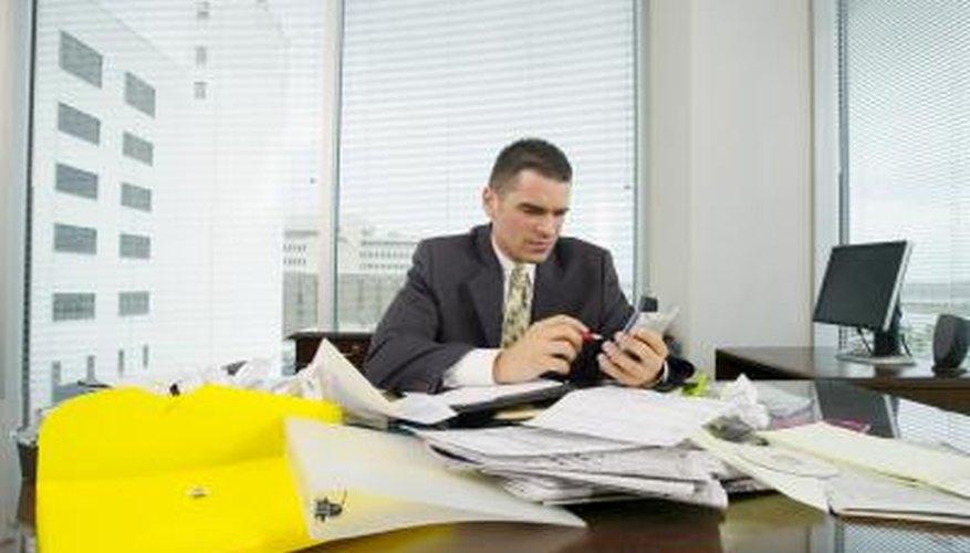 examples of organization skills