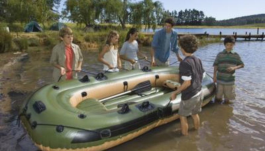 Rough handling can cause leaks on your boat.