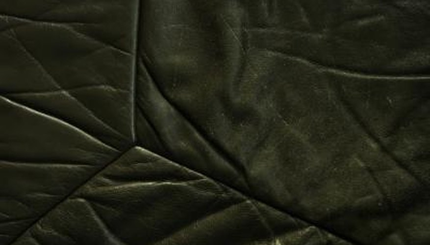 You can shrink stretched leather back to its normal size.