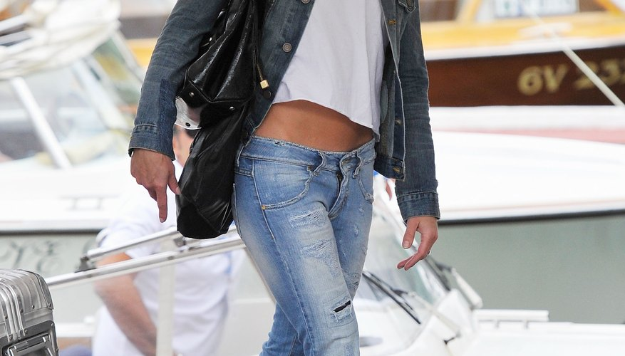 Noomi Rapace wore jeans more distressed than her jacket at the 67th Venice Film Festival.