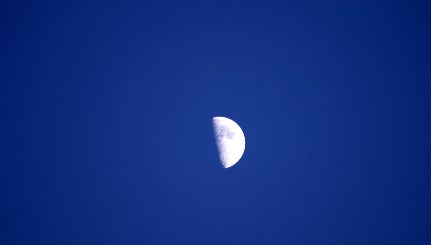 The moon's phases are signifiant for Hindus and Buddhists.