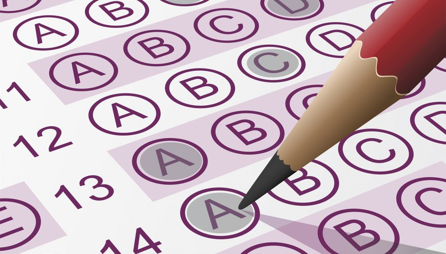 Automatically graded bubble sheets can speed up the process of collected Likert scale data.