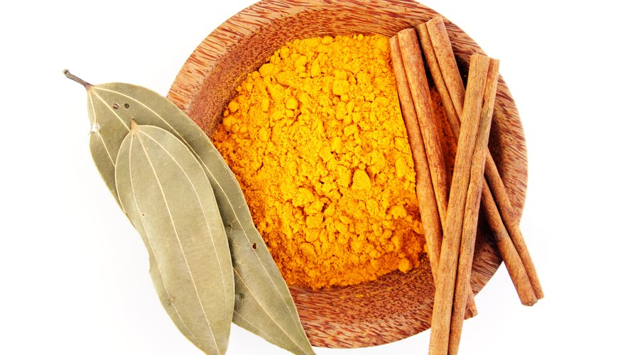 The yellow coloring of Turmeric is associated with Vishnu, a major Hindu deity.
