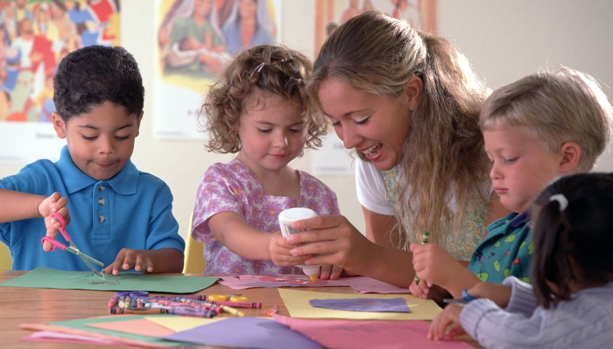 The rule of thumb for preschool crafts is to keep it simple.