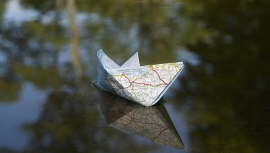 Adding a clear coat to origami hardens it and provides water resistance.