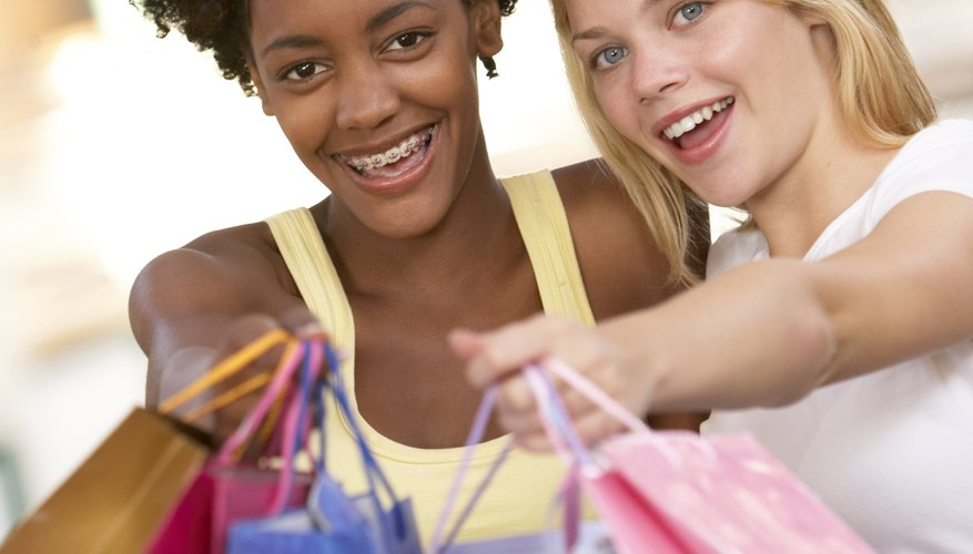 Cheer her up with a trip to the mall.