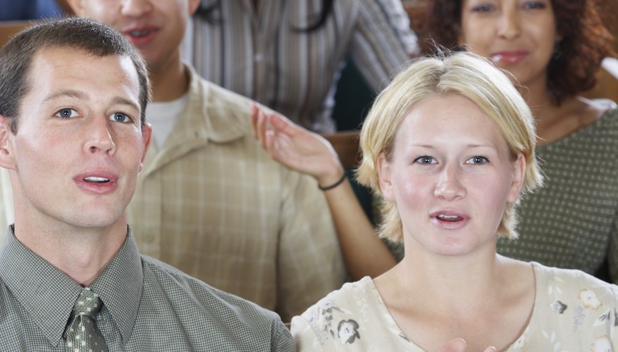 Pentecostals are often associated with exuberant singing and worship.