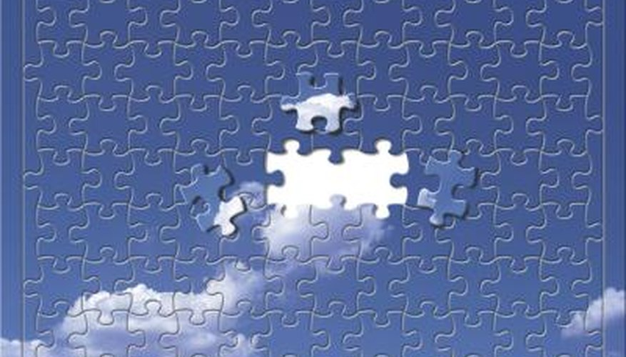 Like jigsaw puzzles, unscrambling a digital picture requires planning and maintaining a strategy.