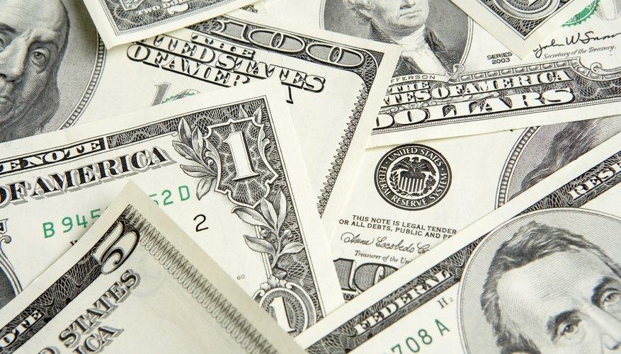 Manejo de grandes cantidades de dinero en las empresas.