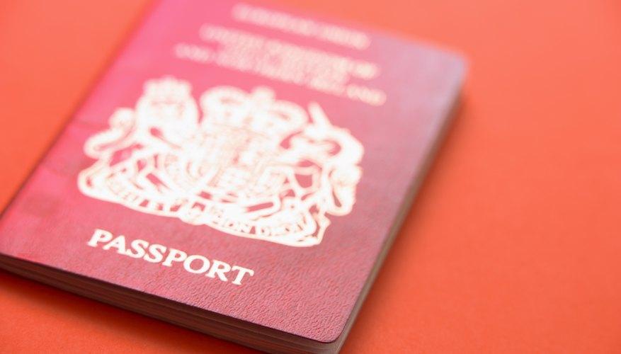 British passport applications often require a countersignature.