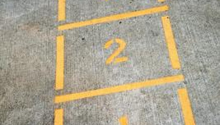 Hopscotch is a game that was enjoyed in the 1940s.