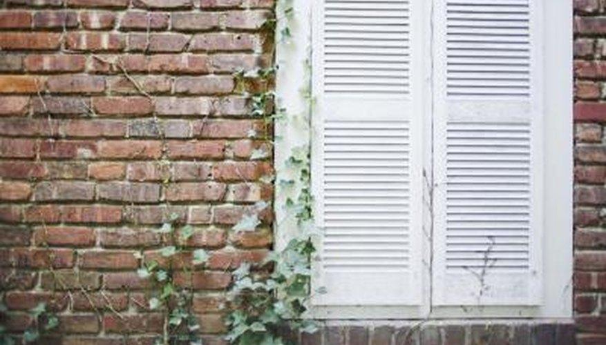 Painting brick and mortar can bring old walls to life.