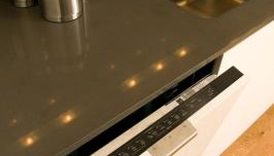Hotpoint dishwashers require water and electricity.