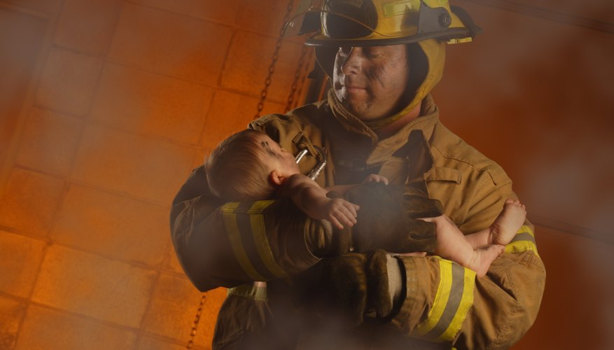 Firefighters often have to face their fears on a daily basis.
