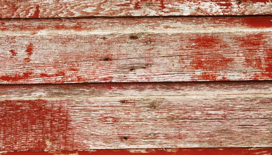 Proper protection helps keep painted wood from fading.