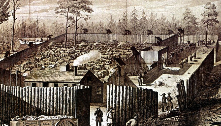 At one time, Andersonville held 33,000 Union prisoners.