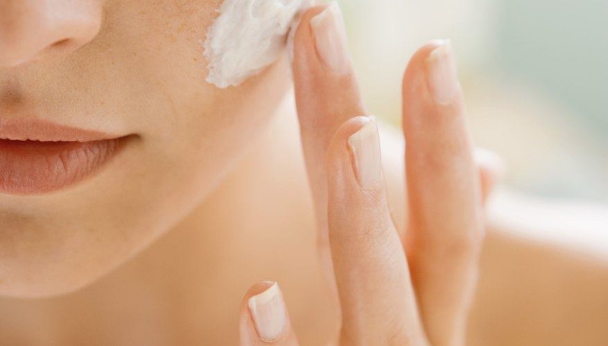 Moisturizer is key to attaining soft skin.