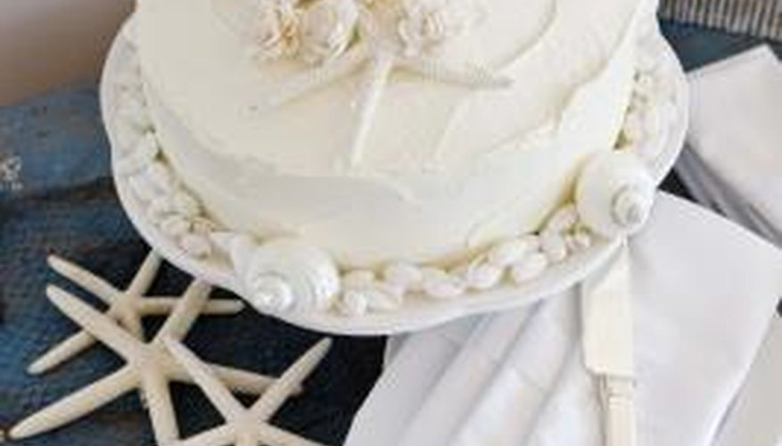 Crusting buttercream allows for decorative cakes without using fondant.