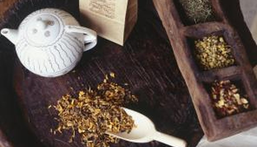 Peppermint tea relieves gas and bloating in addition to ridding the body of parasites.