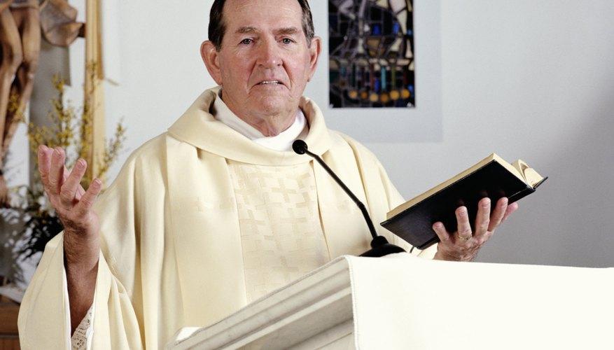 Religious Order Priest