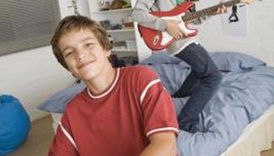 Your teen's bedroom is his main hangout.