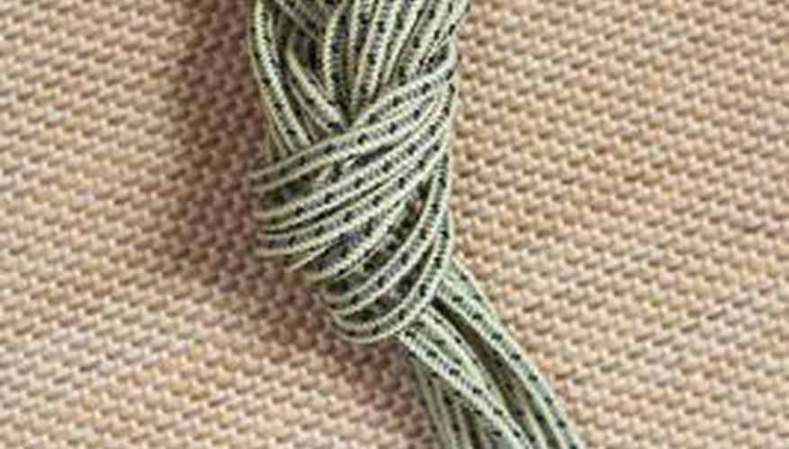 Nylon is often used in rope.