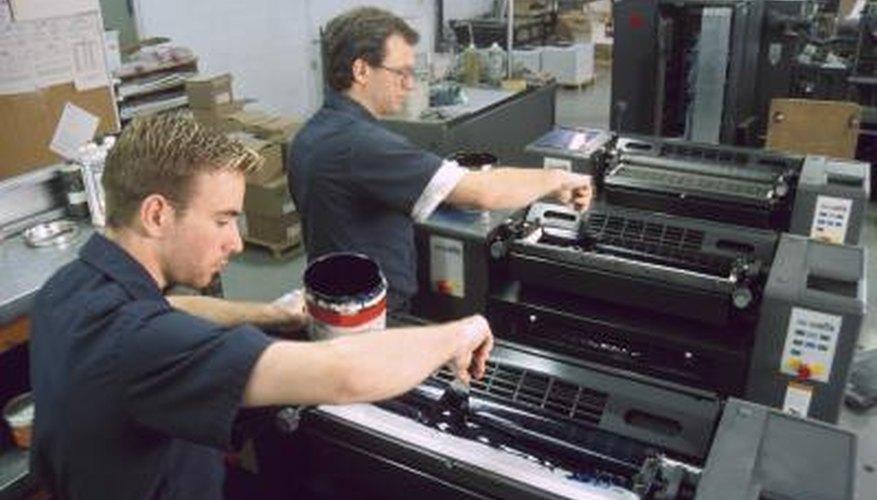 A printer should ensure that an offset press produces high-quality prints.
