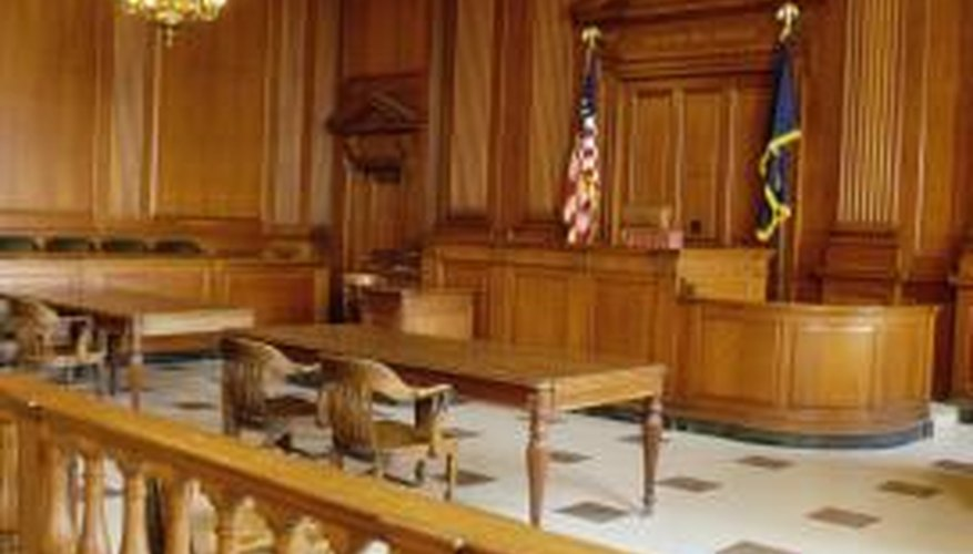 Visit real courtrooms to familiarise yourself with the layout.