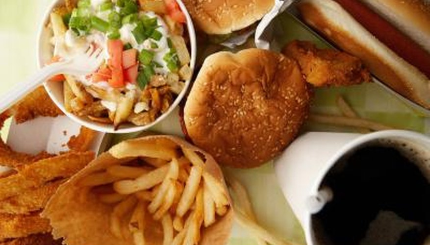 Fast food can increase many health risks if consumed regularly.