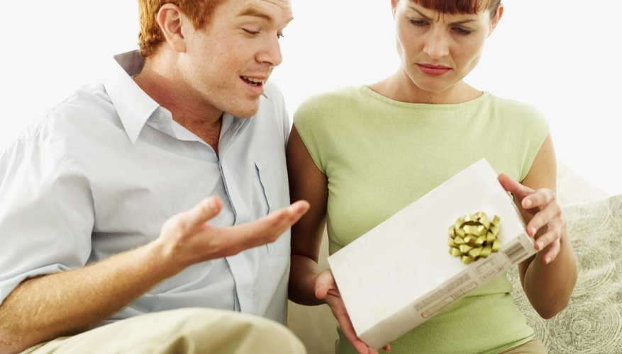 If you cannot show up to an event such as a wedding or birthday in person, make sure to make arrangements to send a present when you decline the invitation.