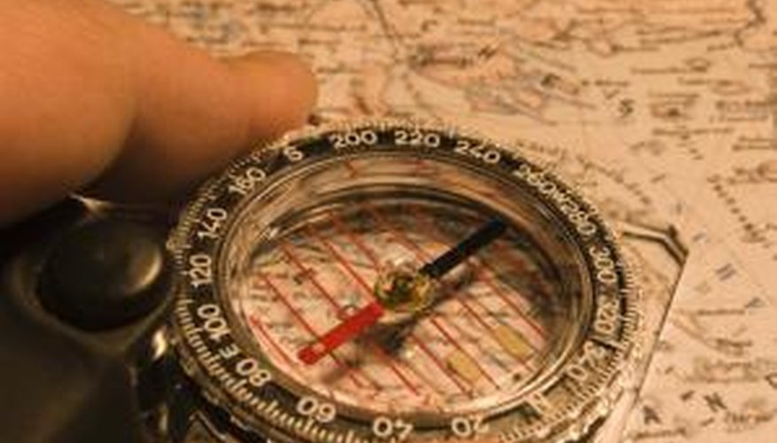 A compass is a delicate instrument, but a demagnetised needle is easy to repair.