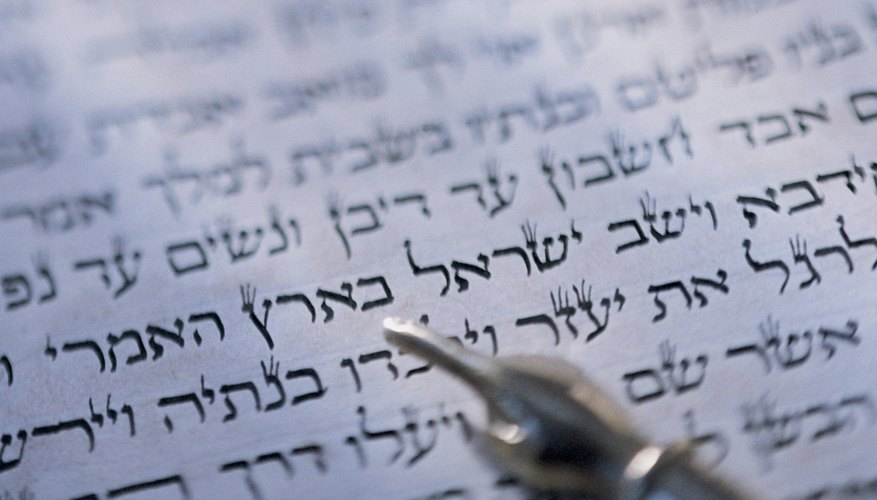 The rituals, holy days and religious practices of Judaism are written in the Torah.