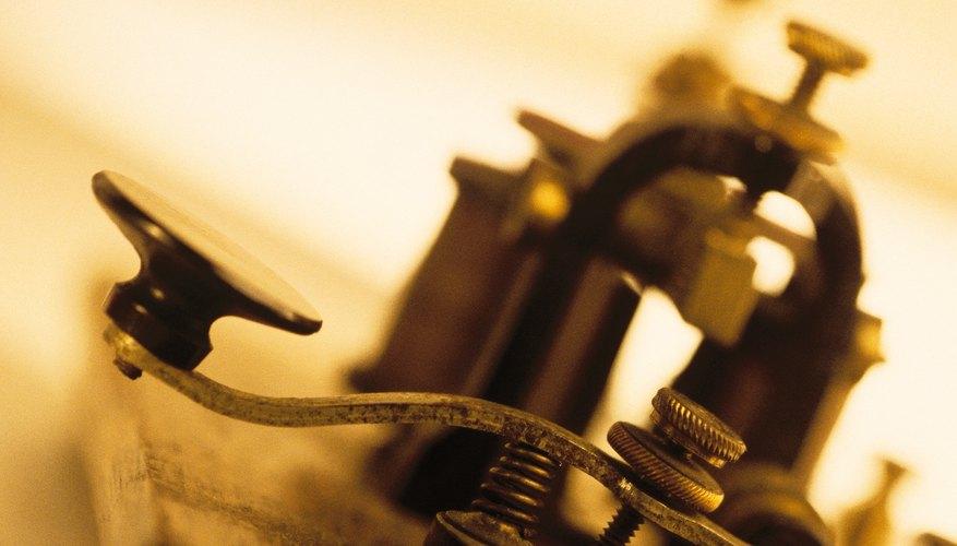 The telegraph ushered communications into the modern era.