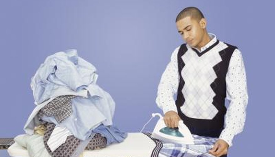 Starch adds stiffness to clothing and ease to ironing.