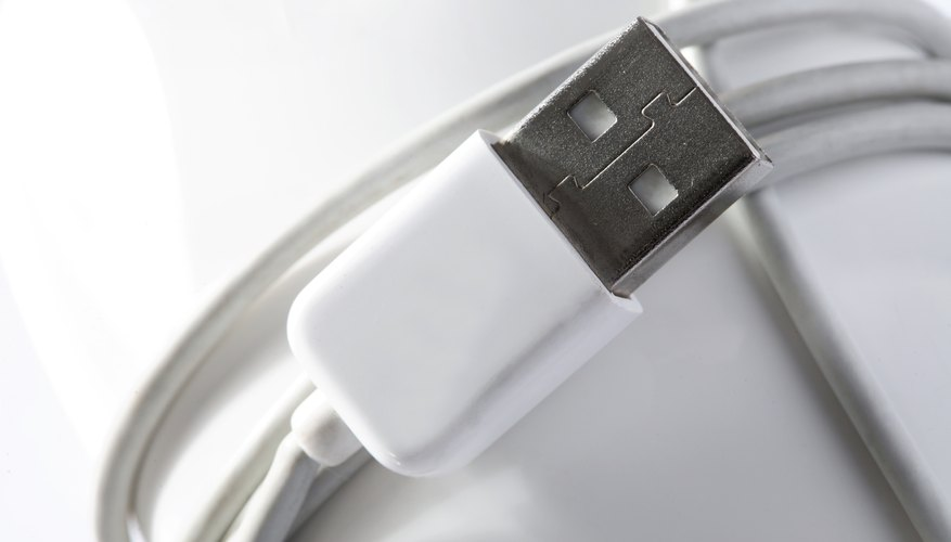 Some phones use custom or specialized USB cables to transfer files.