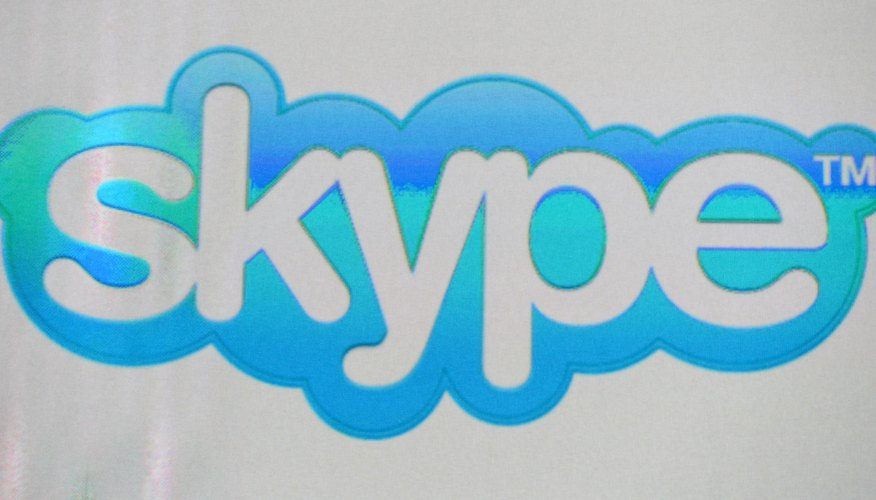 Skype can display effects from most webcam software programs.