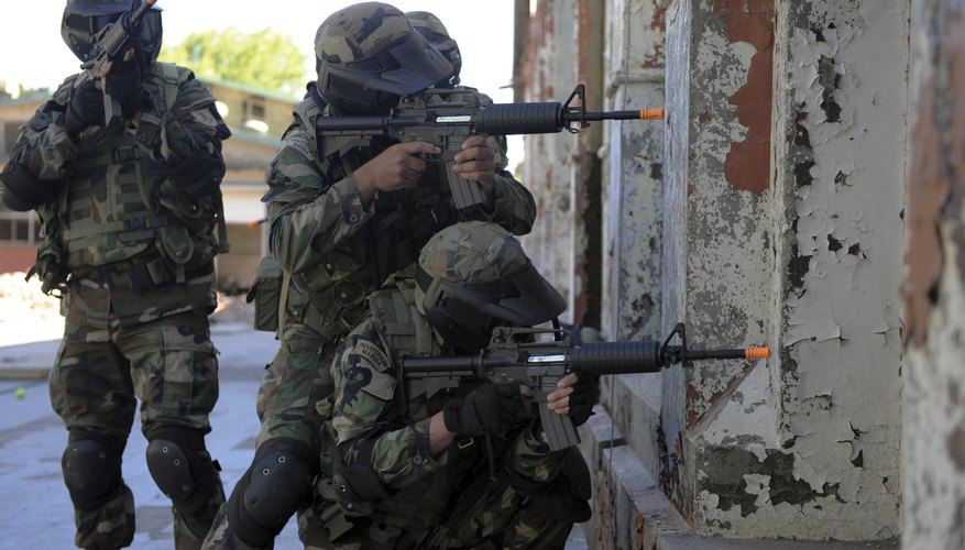 Marines are participating in training exercises.