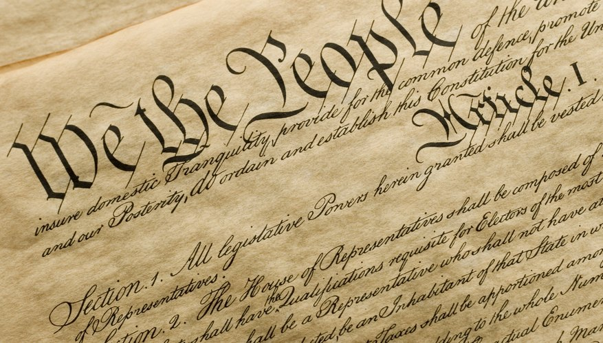 Close-up the constitution.