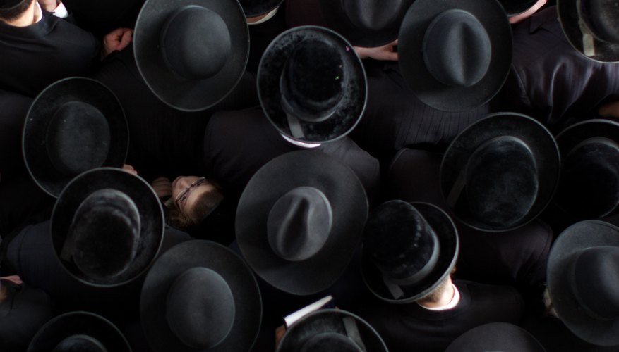 Adult Jewish men were eligible for the quorum.