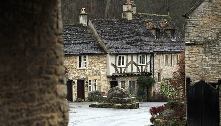 Castle Combe, close to Chippenham, was featured in Steven Spielberg's