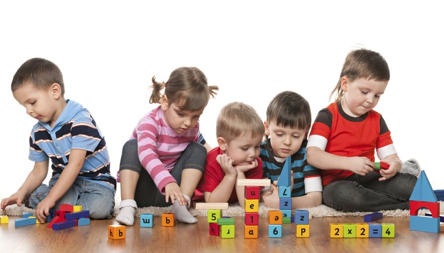 Kindergarten students can learn how to group and sort items when they play matching games.