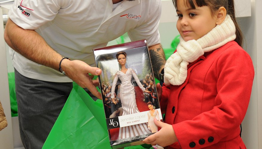 Barbie is one of the most iconic children's toys in the world and was first unveiled in 1959.